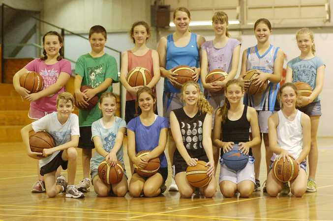 Plenty of smiles for these young players at the Ballina Basketball Association skills session. Photo Stuart Turner / The Northern Star