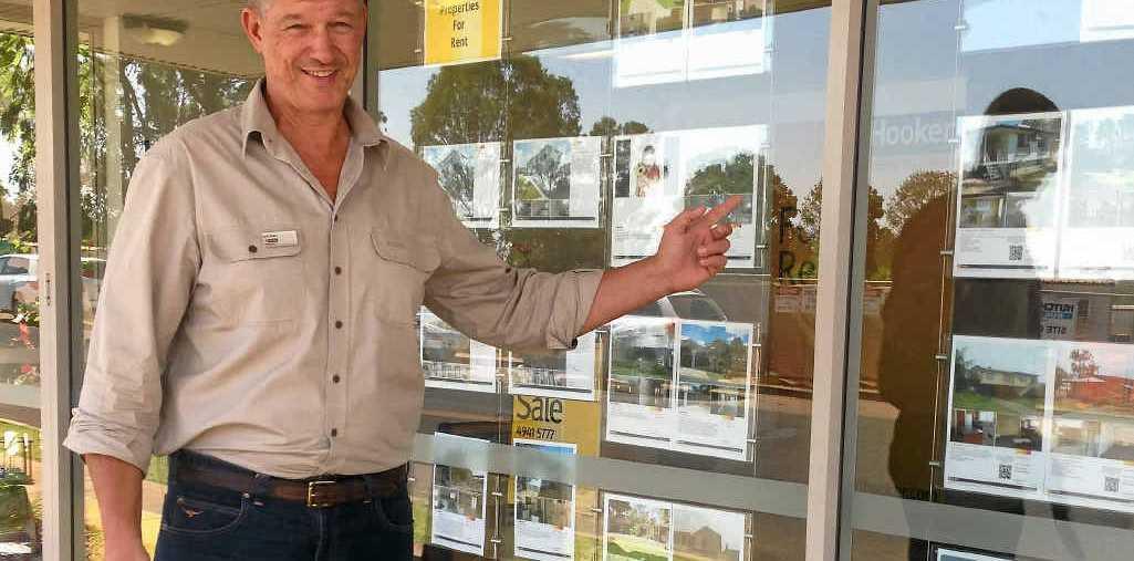 KEEN TO START: LJ Hooker Moranbah real estate sales partner Ardie Bode is keen to tackle the Moranbah market.