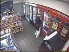 CCTV image show more of the man's face who bashed a petrol station attendant over a can of soft drink