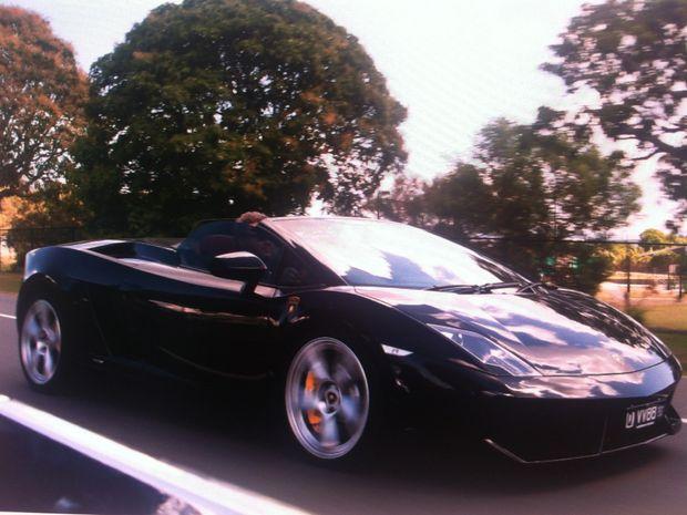 The 2010 Lamborghini Gallardo LP560-4 Spyder.