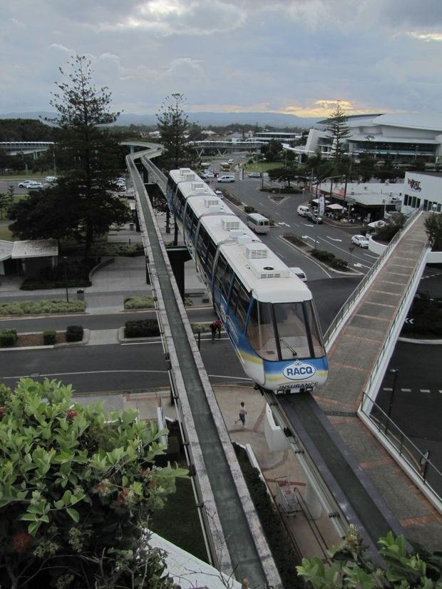 A skytrain or bullet train has been mooted as an idea for Mackay to tap into the tourism potential of the new Whitsunday international airport.