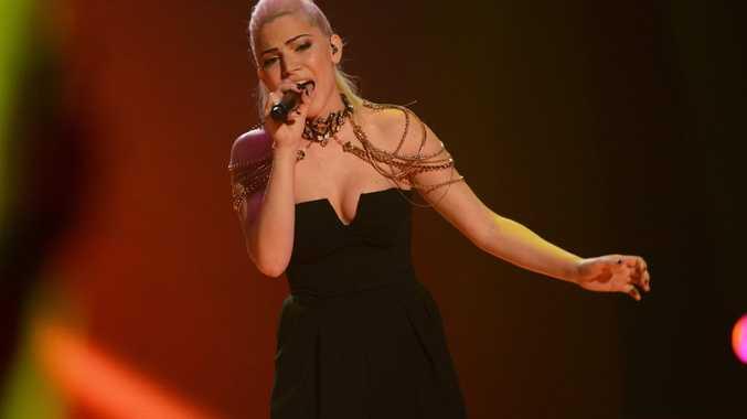 Eliminated X Factor contestant Joelle Hadjia.