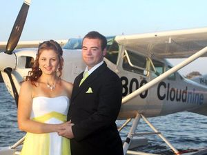 Arrival at school formal was just plane spectacular