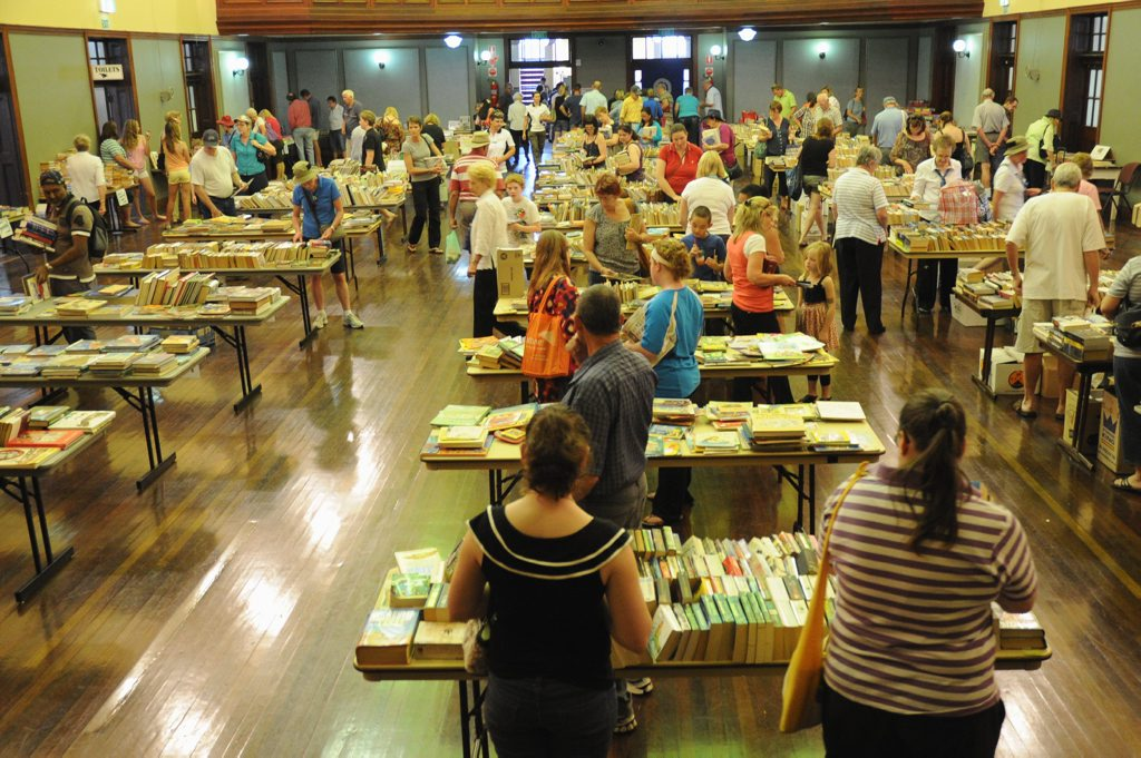 Book lovers have flocked to the event in previous years.