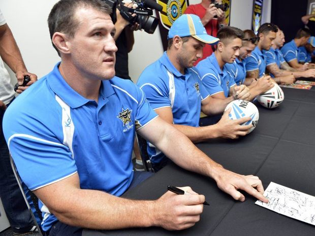NSW Captain Paul Gallen