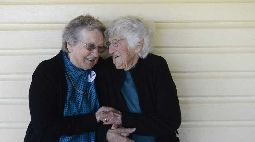 Jean Kratz and Jean Bailey - the
