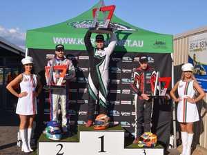 Runner-up spot for Bundaberg karting star