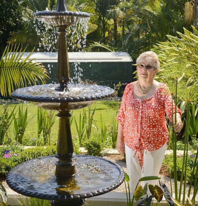 OPEN GARDEN: Annette Baker will have her garden open to visitors during the Jacaranda Festival Open Garden Display.