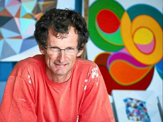 Byron Bay artist John Cottrell has taken out this year's Border Art Prize at the Gold Coast City Gallery.