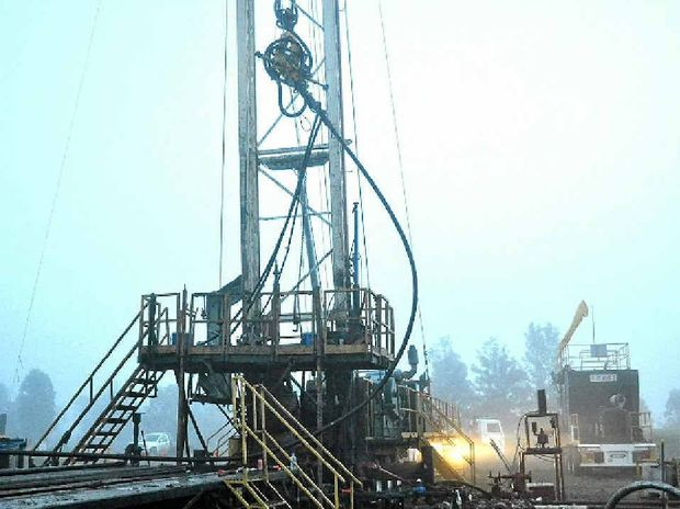 FORCEFUL: About 200m of steel drill pipe was forcibly ejected from a gas well due to an unplanned release of gas at high pressure. The gas well was being decommissioned at the time. Some workers were put at serious risk of harm from falling pipes.