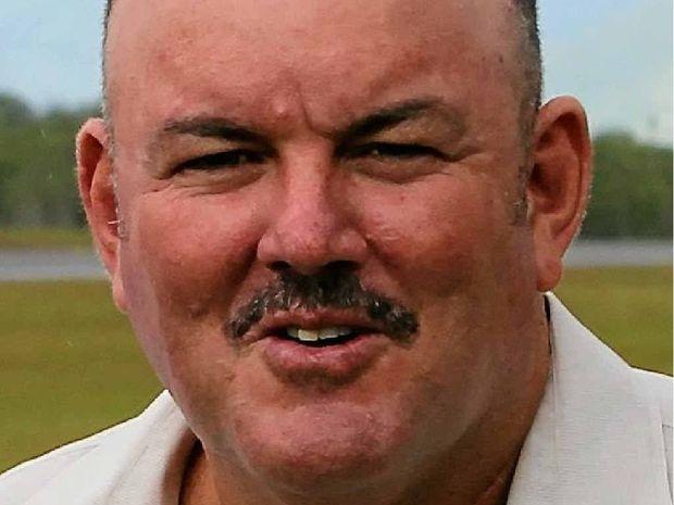 Former Whitsunday mayor Mike Brunker.