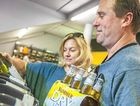 Wine or beer? Kathy Farquhar and Gary Carter take their pick after an ABS survey has found wine is becoming Australia's drink of choice.
