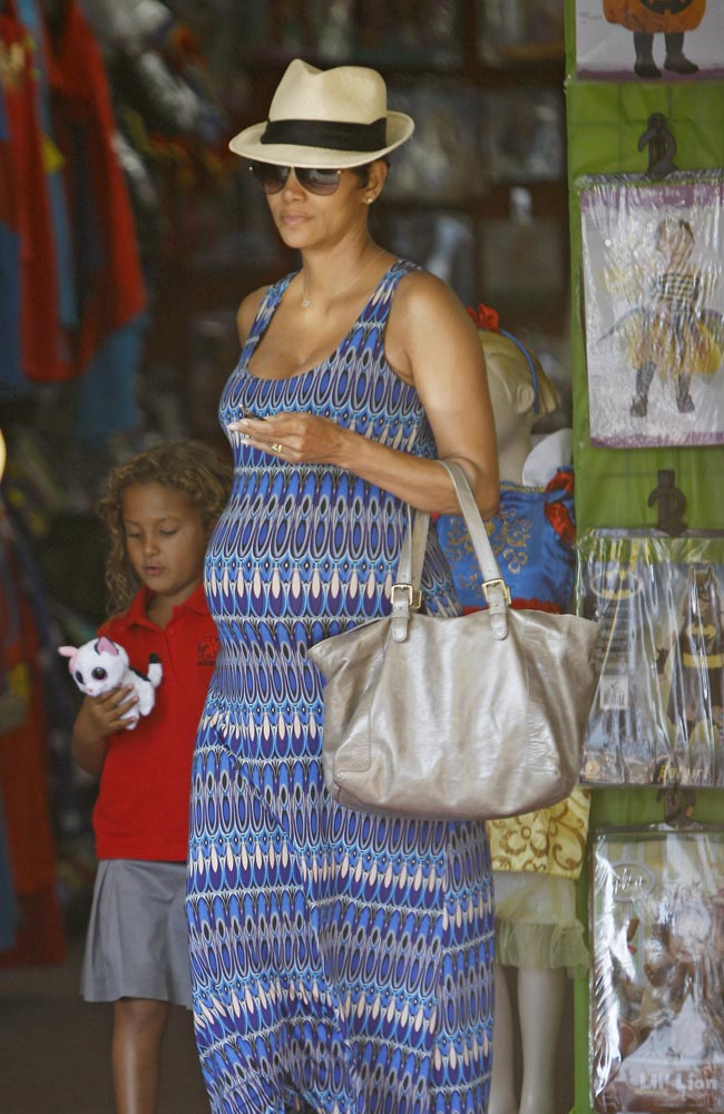 Halle Berry with her daughter Nahla
