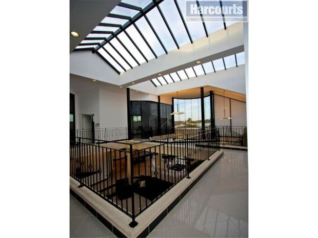 Inside Llleyton Hewitt's mansion, which is up for sale.