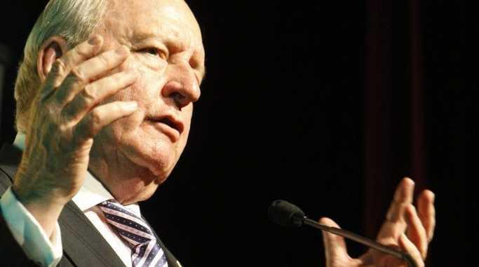 Outspoken CSG critic Alan Jones