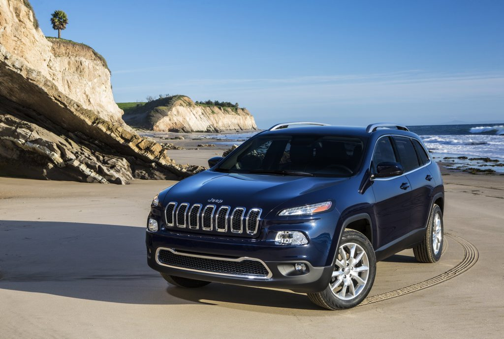 The new Jeep Cherokee.