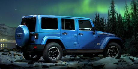 The Jeep Wrangler Polar edition.