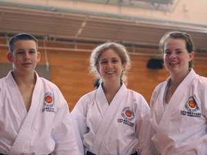 Karate kids back home after training adventure