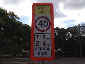 Strong chance of flashing school zone signs at St Helens