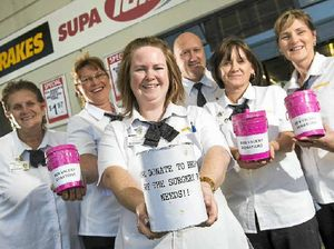 Supa staff raise money to fund workmate's brain surgery