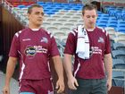 Anthony Mitchell (right)  is off contract at the North Queensland Cowboys at the end of the current season.