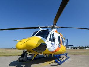 Man airlifted to hospital after truck rolls