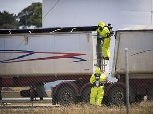 Firies find truck vapour to be corrosive rather than toxic