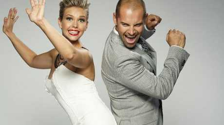 Edwina Bartholomew and Daniel MacPherson host the 2013 series of Dancing With The Stars.