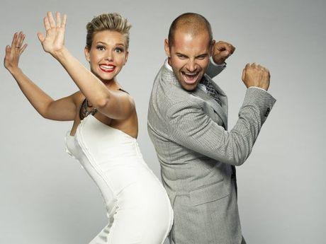 Edwina Bartholomew and Daniel MacPherson host the 2013 series of Dancing With The Stars.
