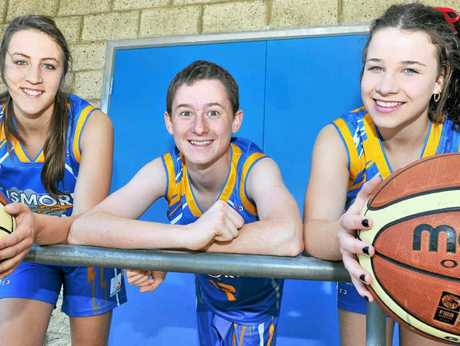 CHOSEN ONES: Teagan McWhirter, Tim Anderson and Caralie Wilson, have been selected to represent NSW Country Basketball.