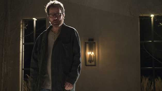 Bryan Cranston as Walter White in the finale of Breaking Bad.