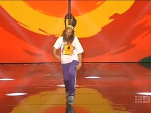 Byron's dancing man performs on Australia's Got Talent
