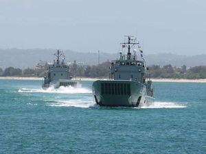 International navy ships set sail to Sydney for review