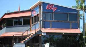 Topless bar, The Bay at Byron, Byron Bay.