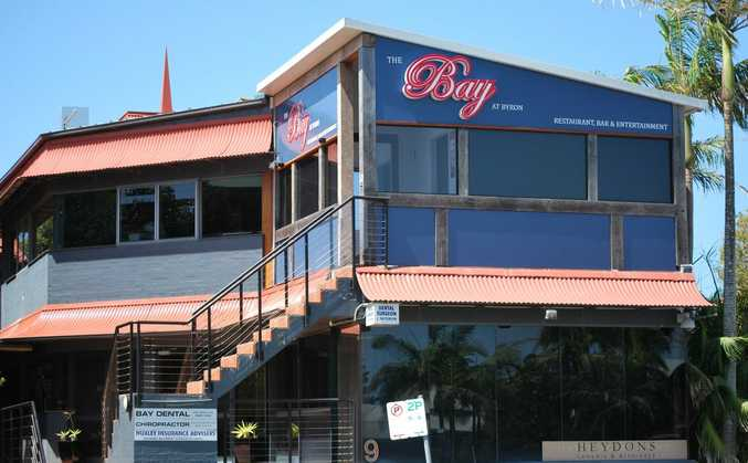 Topless bar, The Bay at Byron, Byron Bay.