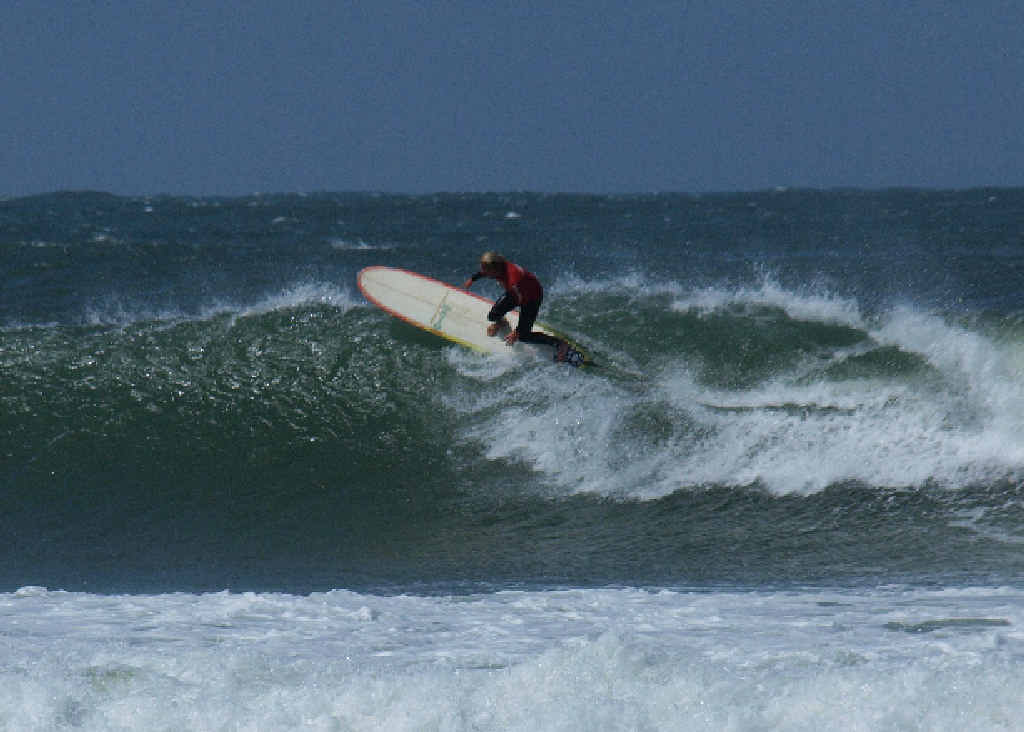 FEELING THE GLIDE: Jared Neal a previous winner of the Open 9ft Division.