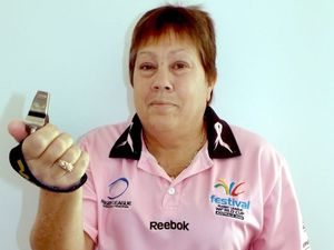Female rugby league ref wants to see women at NRL level