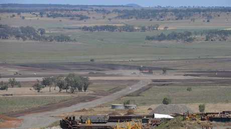 Construction surges ahead at the Wellcamp Airport.