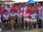 PINK PERFECTION: The Yeppoon Golf Club ladies team celebrate after winning their fourth consecutive CQ Ladies Pennant.