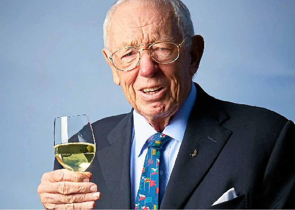 Australian winemaker Bob Oatley.