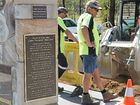 MEMORIAL SITE: Workers start on the earthworks for Stage 2 of Lights on the Hill.