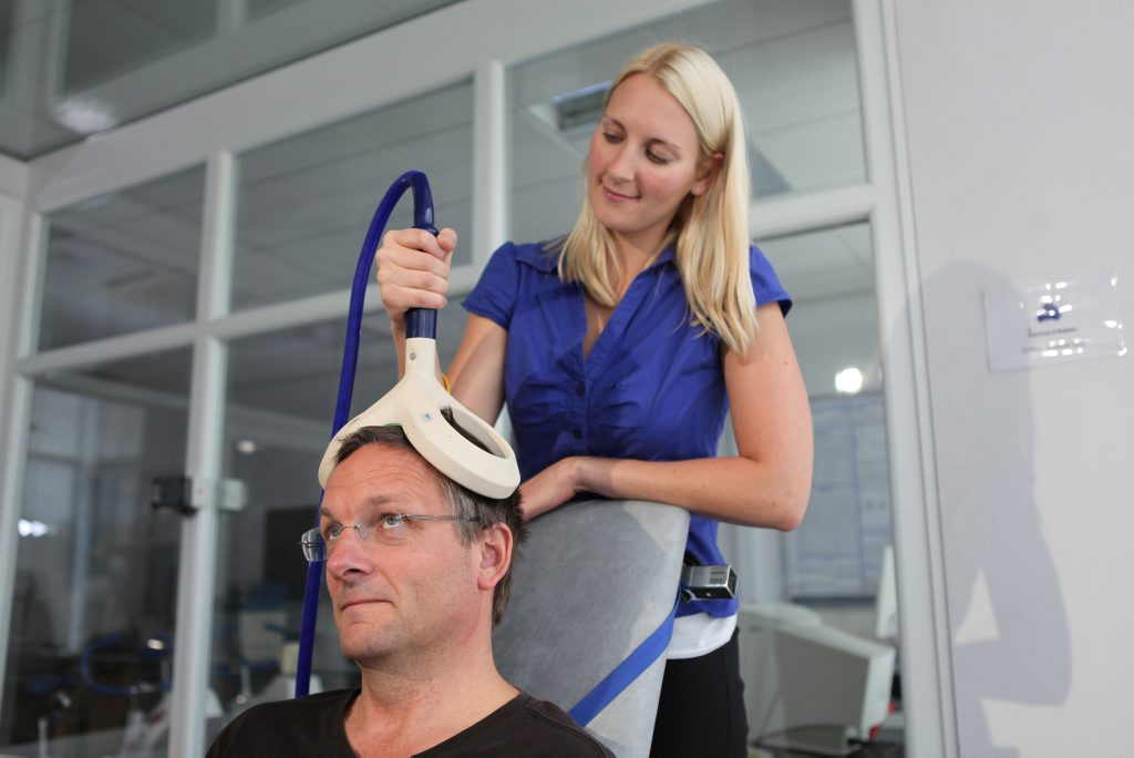 Michael Mosley in a scene from the documentary TV series The Truth About Exercise.