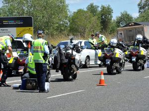 Peak hour police blitz targets obscured number plates