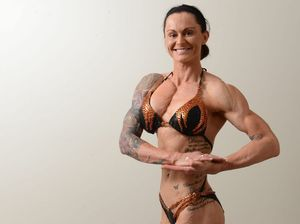Care nurse Sherrie, 27, muscles her way to glory