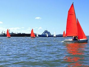 Final race for Port Curtis Sailing Club's fleet for the year