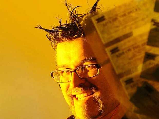 ON FILM: 2013 Clarence Valley Regional Film Festival organiser Marty Wells. Photo: JoJo Newby