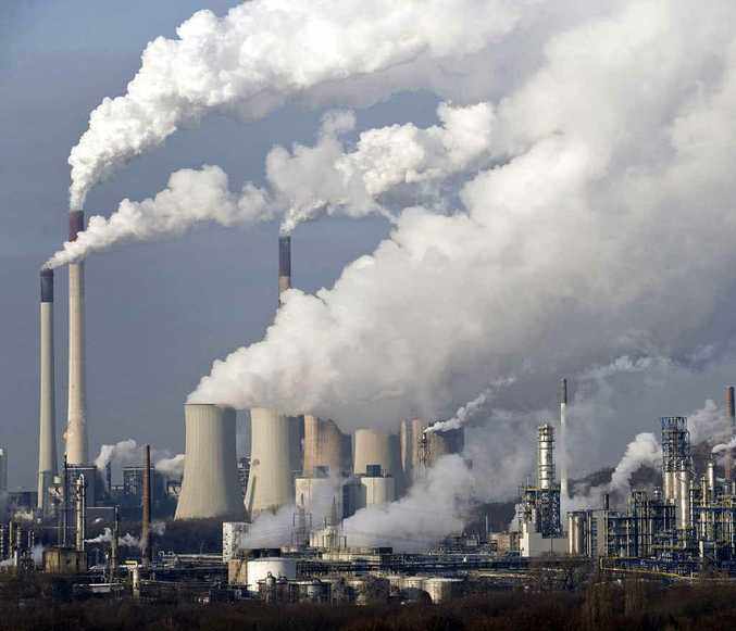 SMOKING TIME: Steam and smoke rises from a coal power station in Gelsenkirchen, Germany.