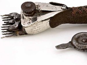 Sotheby's to offer Jackie Howe shears