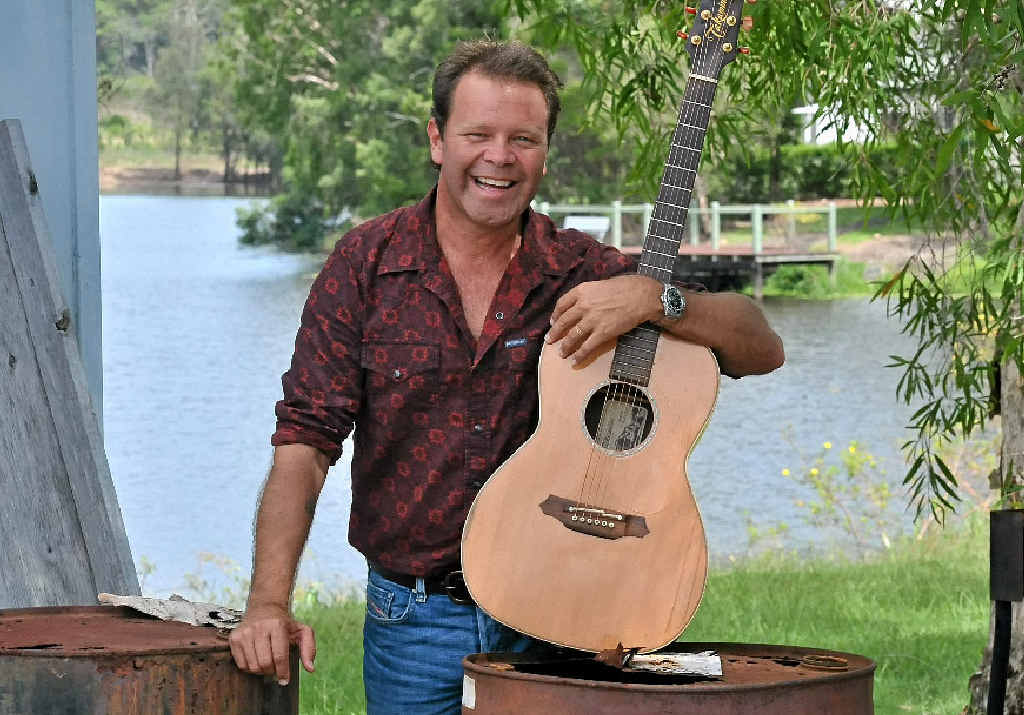 Troy Cassar-Daley will be on stage at the Mountview Music Muster on Sunday.