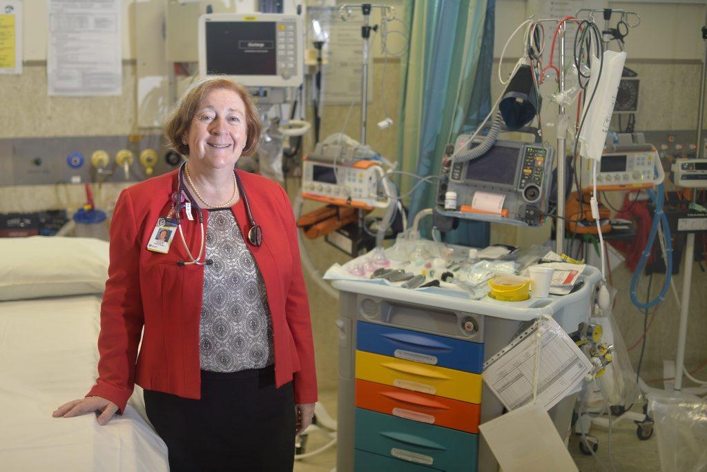 Gladstone Hospital director of medical services Dr Nicki Murdock.